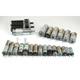 6VDC, 12VDC, 24VDC Φ22mm geared motor