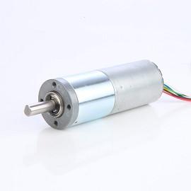 Coreless DC geared motor with diameter 36mm