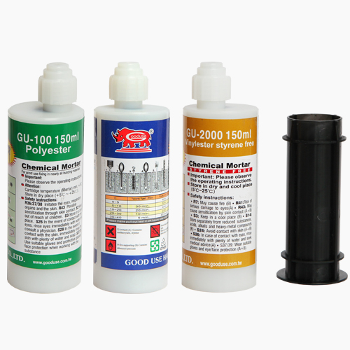 150ml cartridge for chemical anchors fixing