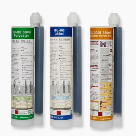 360ml polyester, epoxy acrylate, vinylester styrene free