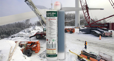 Winter concrete epoxy resin