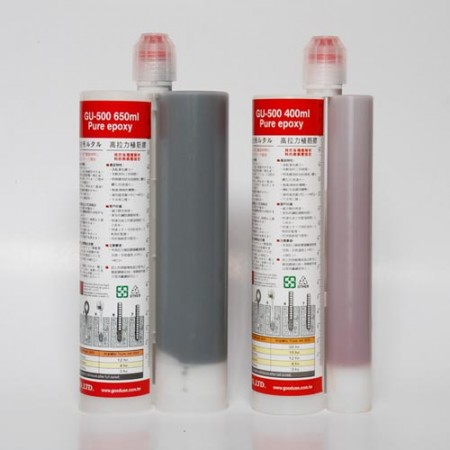 Epoxy anchor side by side cartridge for heavy load
