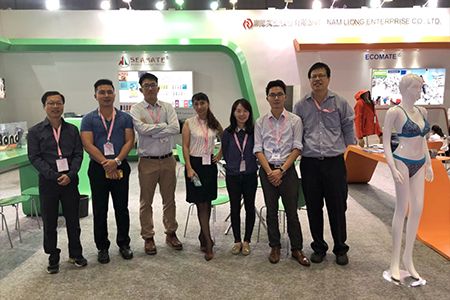2017 Intertextile booth