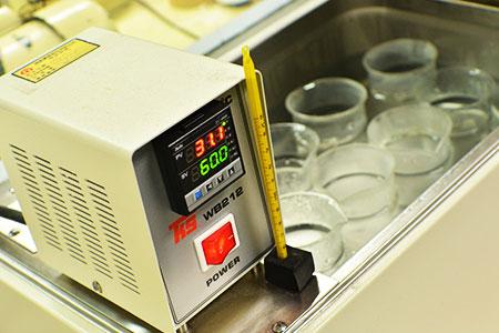 Fregadero termostático