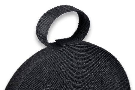 一般鉤面貼起毛布背對背。