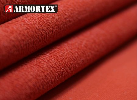 Stretch & Coated Abrasion Resistant Fabric - Kevlar blended stretch abrasion resistant fabric with coating.