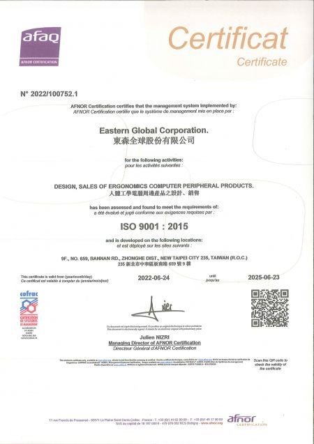 ISO Certificate 2014 to 2017
