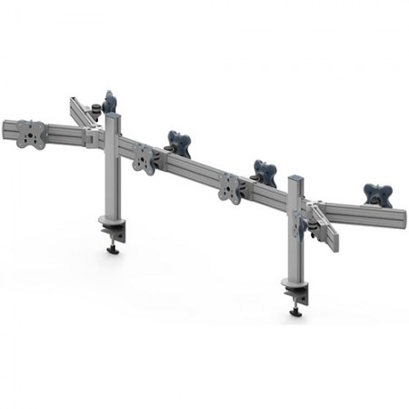 Tool Bar Back to Back System (EGTB) - Eight Monitor Arms EGTB-4514DW / 4514DWG