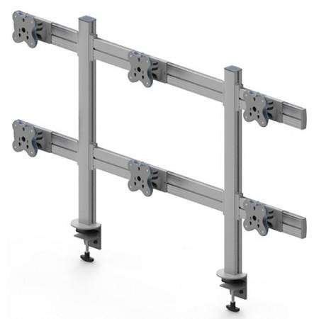 Tool Bar System (EGTB) - Six Monitor Arms EGTB-8026 / 8026G