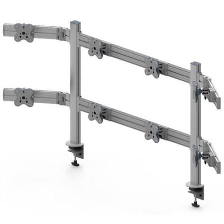 Tool Bar System (EGTB) - Eight Monitor Arms EGTB-8028W / 8028WG
