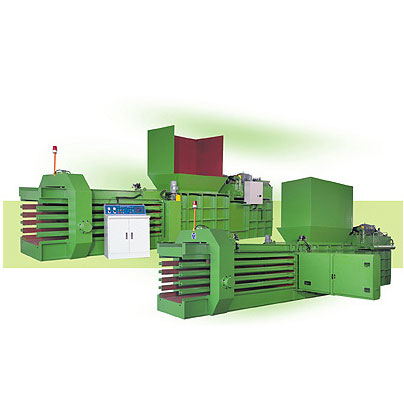 Custom Designed Balers and Recycling Equipment for Industrial Cardboard, Paper and Plastic Waste.