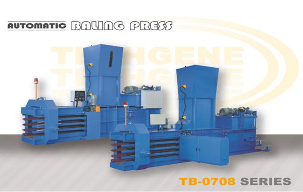 Automatic Horizontal Baling Press TB-0708 Series