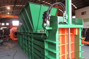 TCB-0810半自动废料压缩捆包机