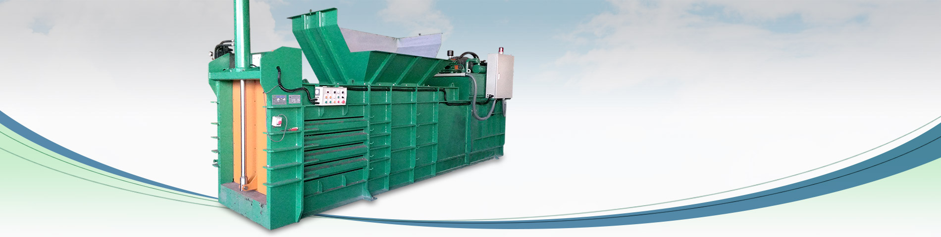 Semi-Auto Close-End Baler