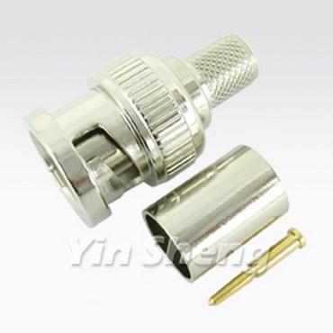3G-SDI BNC Plug Crimp (3 PCS) - 3G-SDI BNC Plug Crimp (3 PCS)