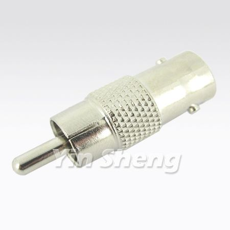 BNC Jack To RCA Plug Adaptor - BNC Jack To RCA Plug Adaptor