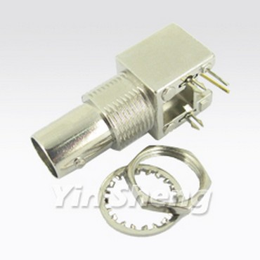 3G-SDI BNC Jack Right Angle PCB Mount (Metal) - 3G-SDI BNC Jack Right Angle PCB Mount (Metal)