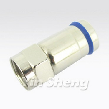 F Plug Compression, Tool Free Design - F Plug Compression, Tool Free Design