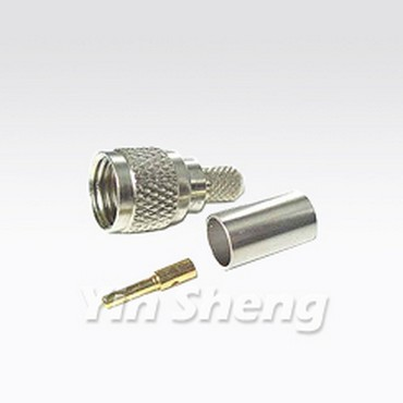 Mini UHF Plug Crimp - Mini UHF Plug Crimp