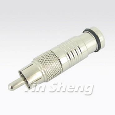 RCA Plug Compression - RCA Plug Compression