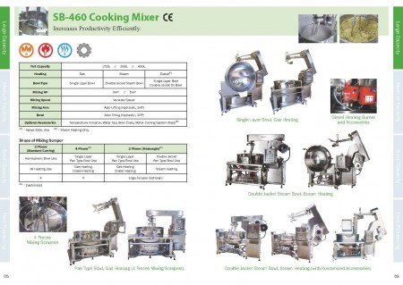Food Cooking Mixers Catalogue_Page 05-06