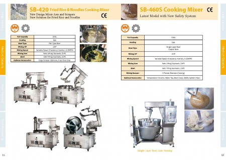 Food Cooking Mixers Catalogue_Page 11-12