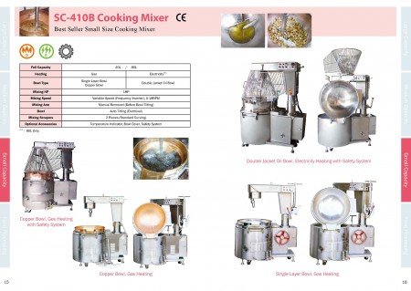 Food Cooking Mixers Catalogue_Page 15-16