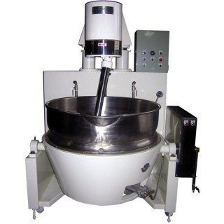SB-430 Cooking Mixer, Painted Body, Double Jacket Oil Bowl, Gas Heating(Manual Ignition)