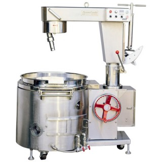 SC-410B Cooking Mixer, SUS#304 Body, SUS#304 Single Layer Bowl, Manual Tilting, Gas Heating [A-1]