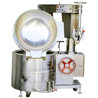 SC-410B Cooking Mixer, SUS#304 Body, SUS#304 Single Layer Bowl, Manual Tilting, Gas Heating [A-2]