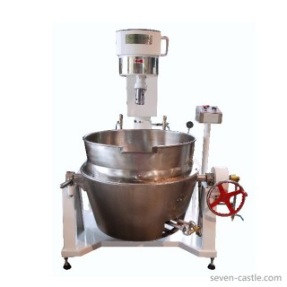 SC-420A Cooking Mixer, Painted Body SUS Stove, Double Jacket Oil Bowl, Gas Heating