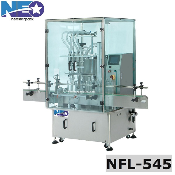 Automatic Overflow Liquid Filler With Safety Gate