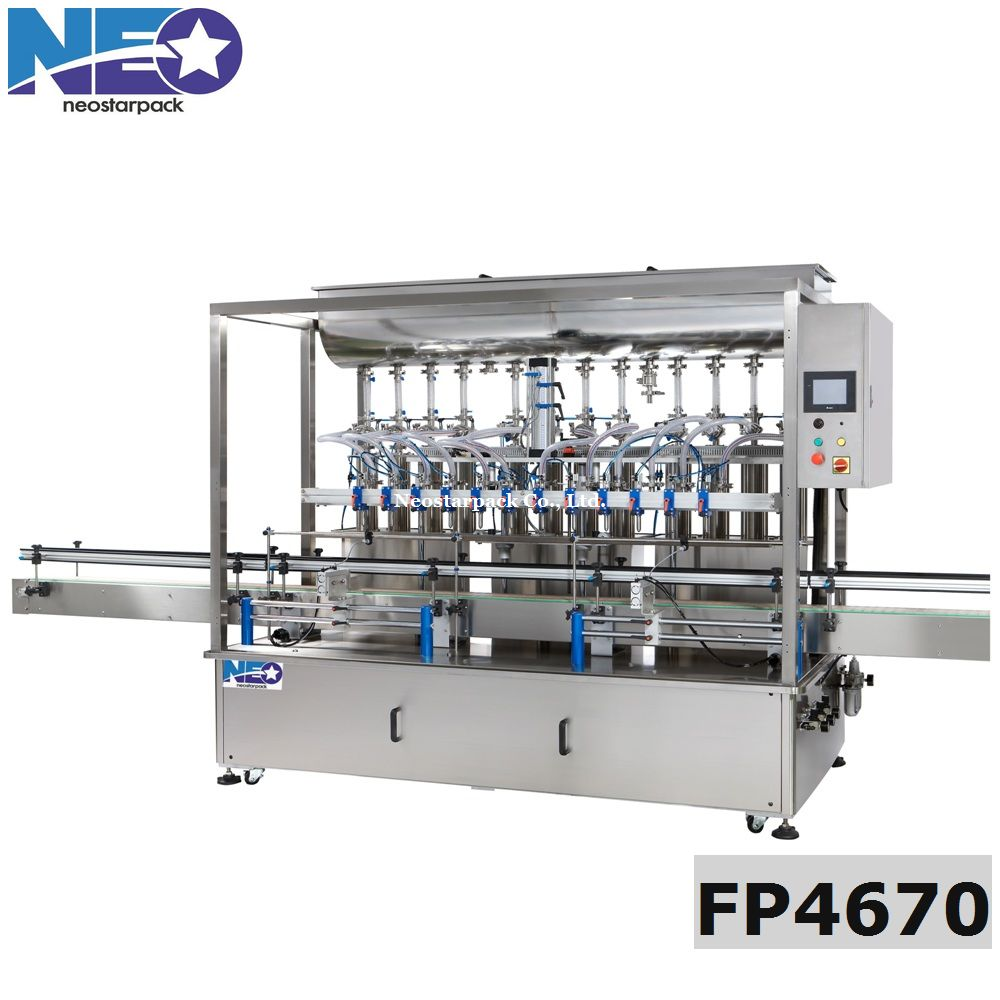 automatic 12 heads Piston Liquid Filling Machine/Auto liquid Filling Machine (Piston Pump)
