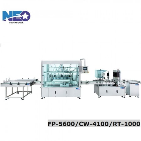 Automatic Filling And Capping Machine Line