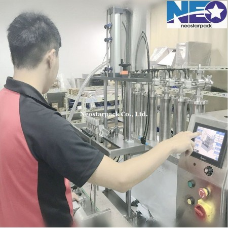 automatic 6nozzle overflow filling machine
