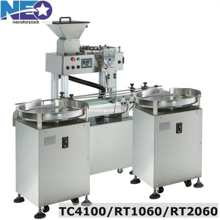 Automatic capsule tablet counting machine line