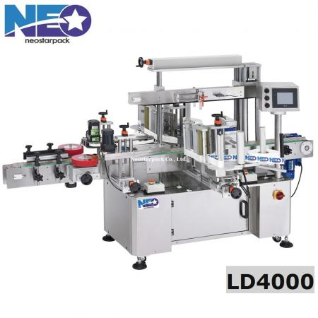 High Speed Front and Back Labeler