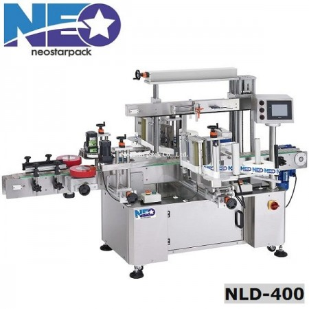 High Speed Front and Back Labeling machine