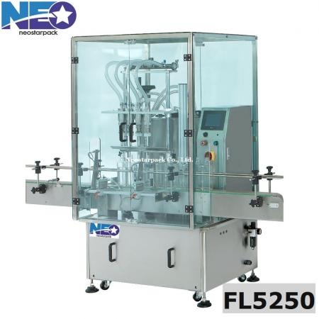 automatic overflow liquid filler with safety gate,mouthwash filling machine
