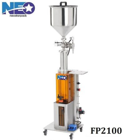 Semi-Automatic Piston Pump Filling Machine