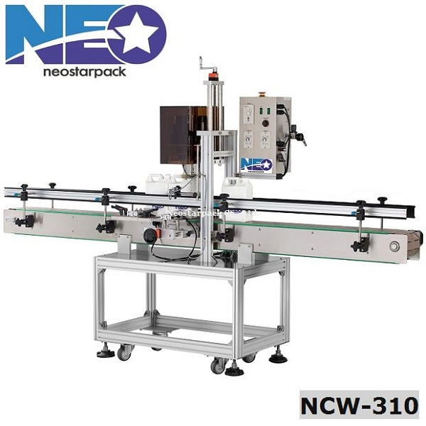 Automatic indexing spindle capping machine,pneumatically driven capping machine