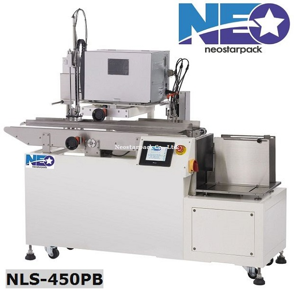 Labeler and automatic feeder with printer