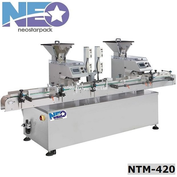 High Accuracy Tablet / Capsule Counting Machiner