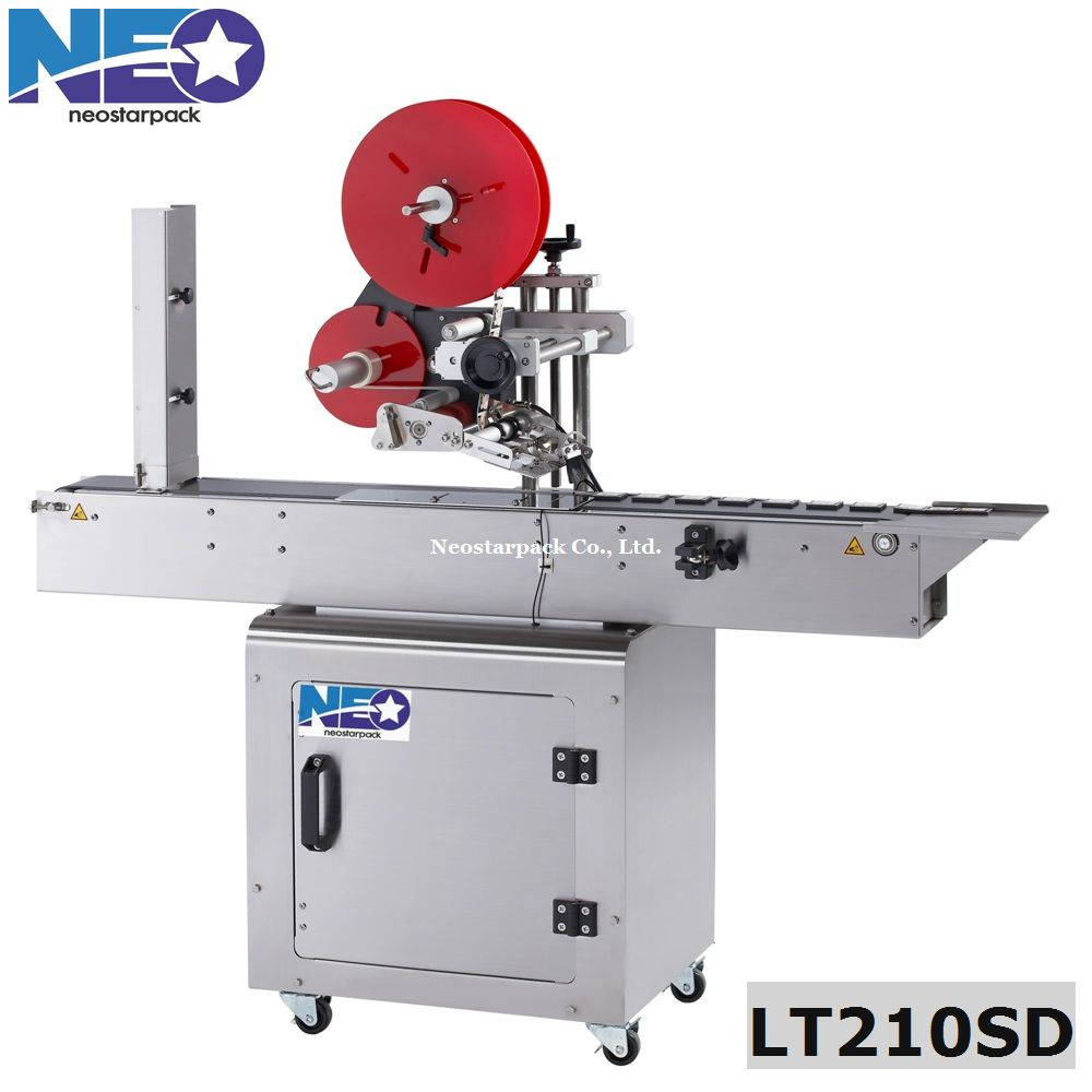 SD cards Automatic Flat Labeling Machine