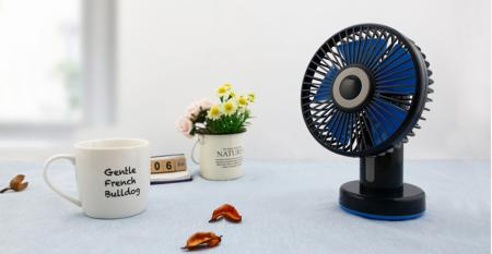 TC-056S 3-Speed Table Fan USB/Battery Powered - 3-Speed Table Fan USB/Battery Powered TC-056S