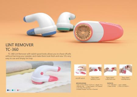Fabric Shaver Battery Operated TC-360
