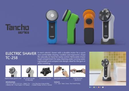 Electric Travel Shaver Battery Powered TC-258