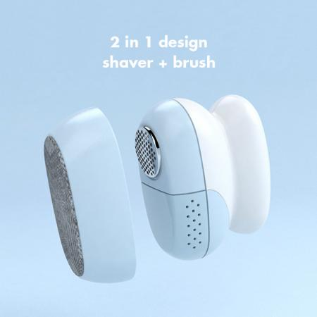 2 in 1 lint shaver and brush