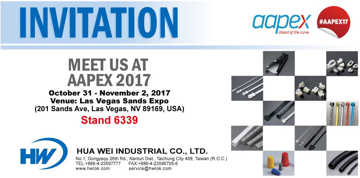 Invitation Card - 49th AAPEX Sands Expo