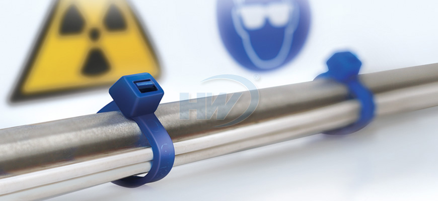 Cable Ties, TEFZEL®, 370mm, 4.6mm Manufacturer - HUA WEI